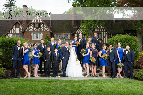 Pinecroft Mansion Wedding Party