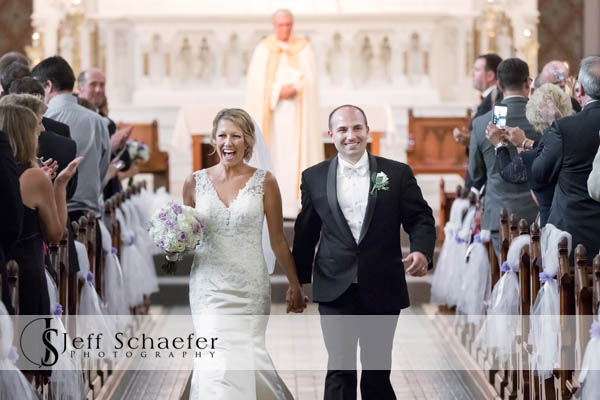 Wedding at st francis de sales and the grand covington wedding st francis de sales wedding recessional junglespirit Gallery