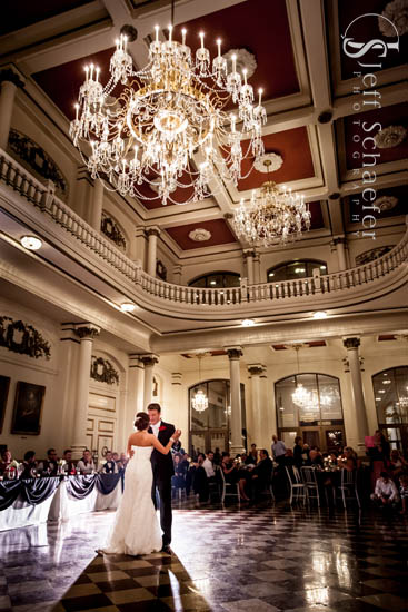 Music Hall Cincinnati Wedding