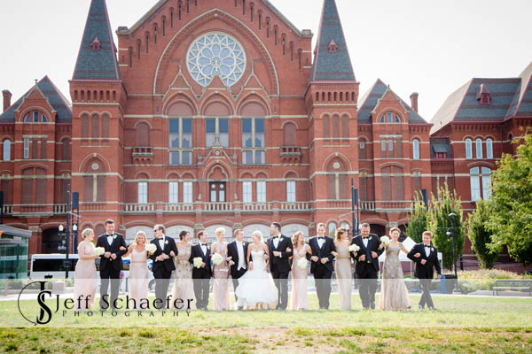 Cincinnati Music Hall Wedding Party